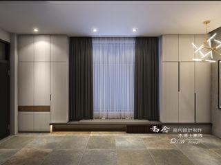 華麗磅礡-劇院宅 木博士團隊/動念室內設計制作 現代風玄關、走廊與階梯