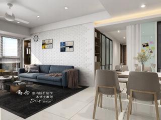 愜意生活–-喬立圓容 木博士團隊/動念室內設計制作 现代客厅設計點子、靈感 & 圖片