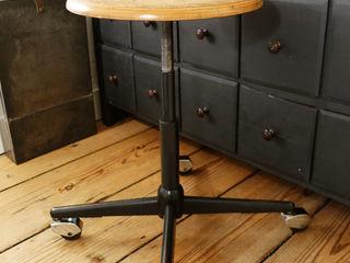 Maisondora Vintage Living Studeerkamer/kantoorStoelen Metaal Zwart