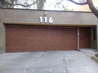 PUERTAS AUTOMÁTICAS GROSSMANN Front doors Aluminium/Zinc Wood effect