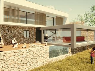 L.A.D Atelier Modern houses