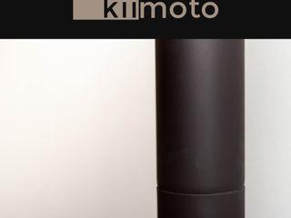 kiimoto kamine SalonCheminées & accessoires Fer / Acier Beige