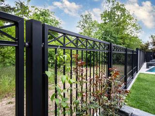 Nordzaun Front garden Iron/Steel Black