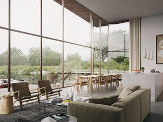 Floating House AR Design Studio Built-in kitchens