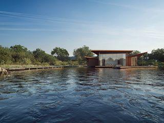 Floating House AR Design Studio Modern houses