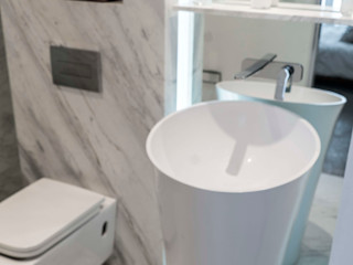 COVAM BathroomSinks Tembikar White