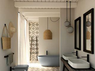 Ý tưởng thiết kế phòng tắm hiện đại và tinh tế với diện tích 2m2, 3m2, 4m2, 5m2, 6m2 Công ty TNHH Tư vấn thiết kế xây dựng An Khoa ArtworkOther artistic objects