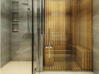 Ý tưởng thiết kế phòng tắm hiện đại và tinh tế với diện tích 2m2, 3m2, 4m2, 5m2, 6m2 Công ty TNHH Tư vấn thiết kế xây dựng An Khoa BathroomBathtubs & showers