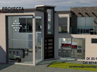 PROYECTA Grupo Constructivo Detached home Stone Grey