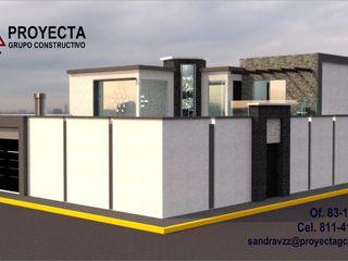 PROYECTA Grupo Constructivo Detached home Stone White