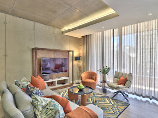 The Signature, Cape Town Studio Do Cabo Modern living room