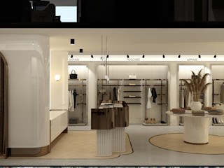 Mağaza Projesi WALL INTERIOR DESIGN Ofisler ve Mağazalar