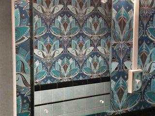 Tonic Interiors Kamar Mandi Klasik Ubin Blue