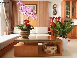 THI CÔNG NỘI THẤT CĂN HỘ HADO CENTROSA 100M2 - 3 PHÒNG NGỦ (Q.10) Công ty Cổ Phần Nội Thất Mạnh Hệ Phòng khách