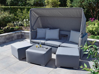 Jack Lounge Textil ZEBRA GartenMöbel Textil Grau
