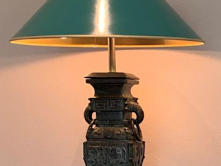 Klassische Leuchten mit Handlackschirme Atelier Winter & Partner Klassische Wohnzimmer