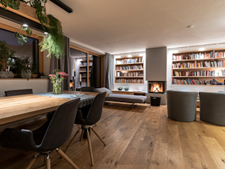 S.N.O.W. Planungs und Projektmanagement GmbH Scandinavian style living room