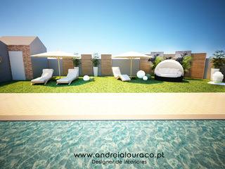 Andreia Louraço - Designer de Interiores (Email: andreialouraco@gmail.com) Jardines de estilo moderno