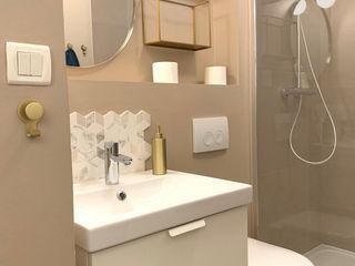 2 pièces meublé - Rennes Sandrine Carré Salle de bain scandinave
