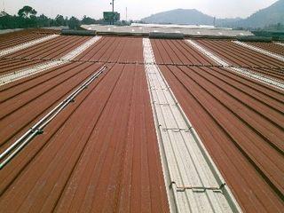 GRUPO MEVA CONSTRUCCION, S.A DE C.V. Çatı teras Metal Kırmızı