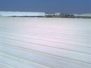 GRUPO MEVA CONSTRUCCION, S.A DE C.V. Çatı teras Metal Beyaz
