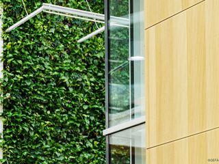 Pflanzenwandbeleuchtung im Atrium Bilton International GmbH Wände & BodenWanddekorationen