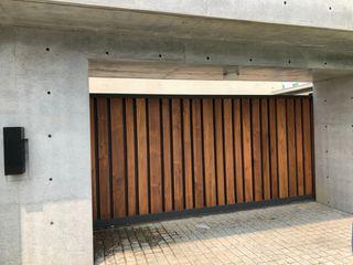 謝木木工作室 Windows & doors Doors Metal Wood effect