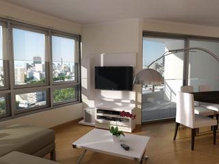 laura zilinski arquitecta Living roomTV stands & cabinets