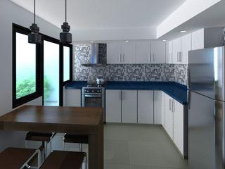 laura zilinski arquitecta Built-in kitchens