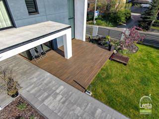 Lenta Balkon, Beranda & Teras Modern