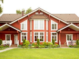 Çağlar Wood House Деревянные дома Дерево Красный