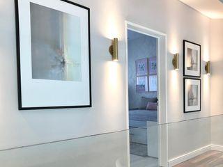 Estudio Nicolas Pierry 現代風玄關、走廊與階梯