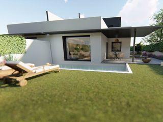 GF CONSTRUCCIÓN SOSTENIBLE S.L.U Minimalistyczne domy