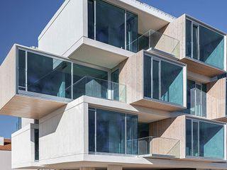 Banema S.A. Multi-Family house Engineered Wood Wood effect