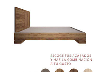 Nunco Mobler BedroomBeds & headboards Chipboard Wood effect