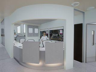 Ampliación TAMO Estudioviaarqs Hospitales de estilo industrial