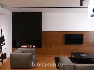 Биокамины SappFire Sala de estarTV e mobiliário