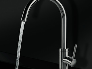 Ghenos Communication KitchenSinks & taps Iron/Steel Metallic/Silver