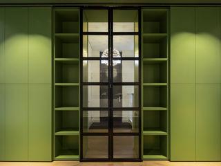 ÈMCÉ interior architecture pintu kaca