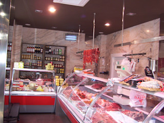 Proyecto y Ejecución de Carnicería Charcutería con Obrador ESTUDIO FRANCIA INTERIORISMO Espacios comerciales de estilo moderno