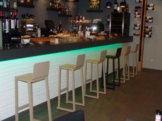 Proyecto y Ejecución Bar Restaurante en Bizkaia ESTUDIO FRANCIA INTERIORISMO Gastronomía de estilo moderno