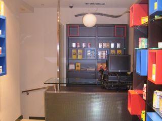 Proyecto y Ejecución de Local para Tienda de Dietética y Nutrición ESTUDIO FRANCIA INTERIORISMO Oficinas y tiendas de estilo moderno
