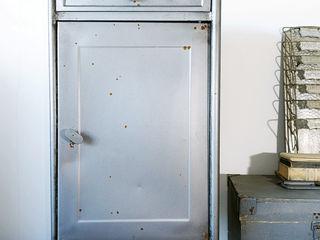 Maisondora Vintage Living Studeerkamer/kantoorKasten & planken IJzer / Staal Metallic / Zilver