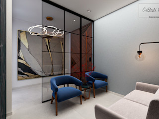 Citlali Villarreal Interiorismo & Diseño Modern corridor, hallway & stairs