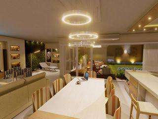 Aida tropeano& Asociados Built-in kitchens Engineered Wood Beige