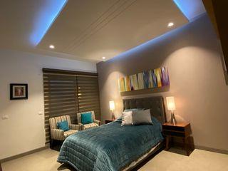 arketipo-taller de arquitectura Modern style bedroom