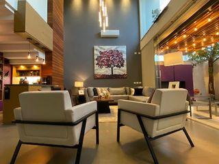 arketipo-taller de arquitectura Modern living room
