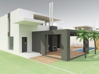 MEF Architect Villas Concrete White