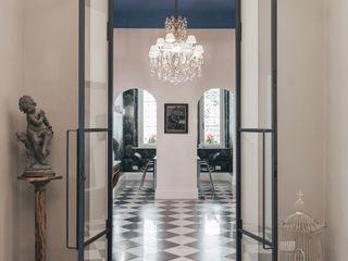 MODO Architettura Modern corridor, hallway & stairs