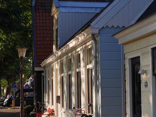 YBB Architecture Amsterdam บ้านประหยัดพลังงาน ไม้ Blue